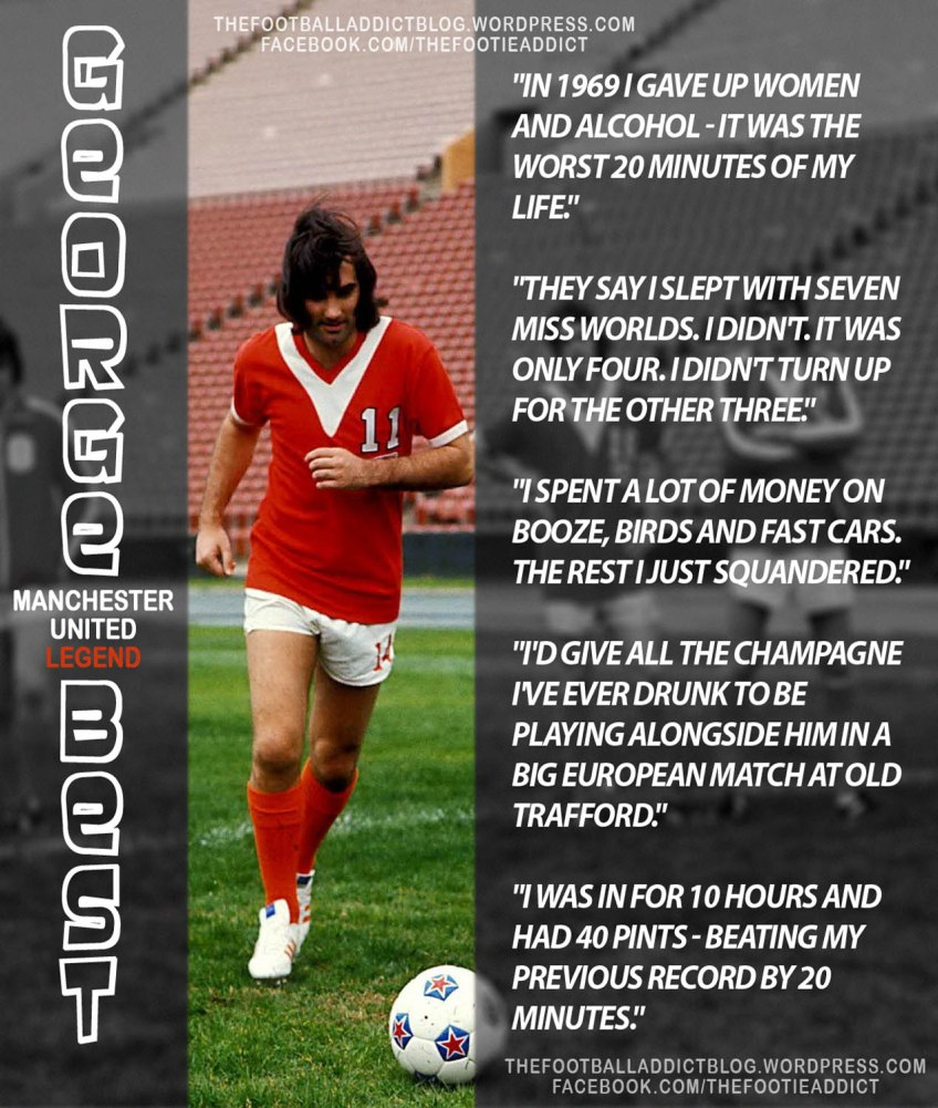 Quotes On George Best Manchester United Legend The Football Addict