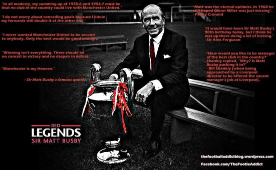 sir matt busby - Quotes