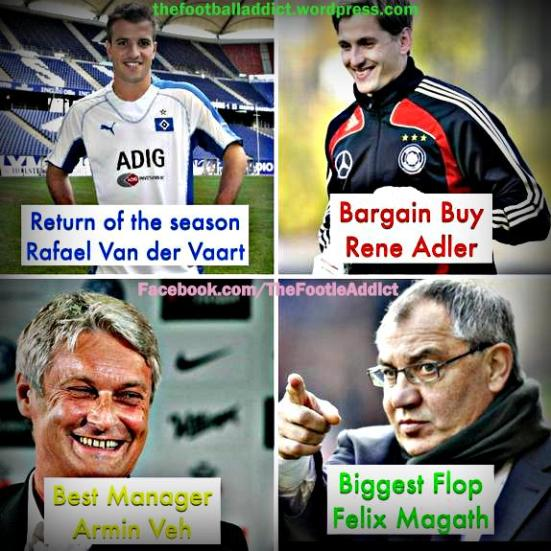 Bundesliga mid year awards