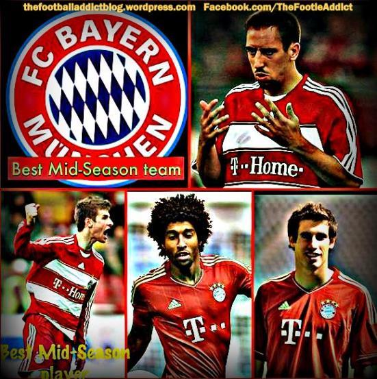 Bundesliga team of the season and player of the season