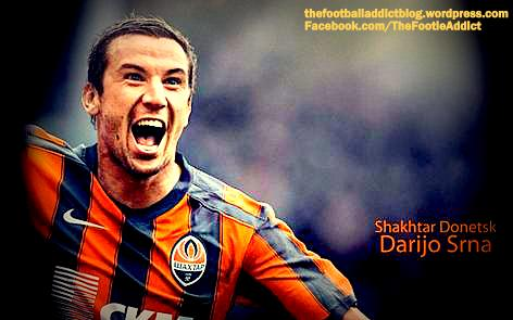 darijo srna (crotian and shaktar star)