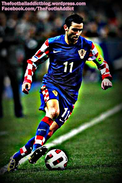 darijo srna playing for croatia