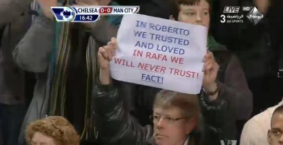 in roberto we trust, in rafa we will never trust