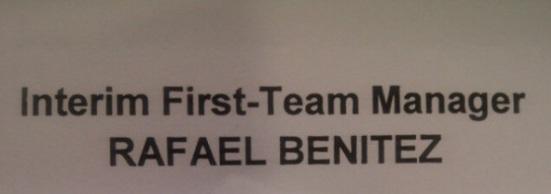 interim first team manager