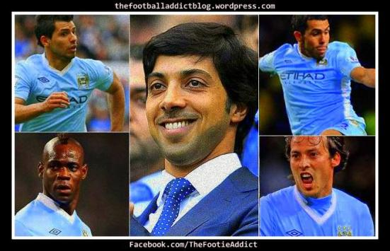 Manchester City's star signings
