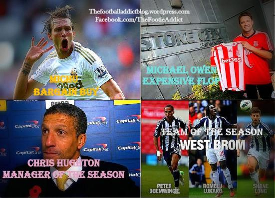 Michu, Owen, Hughton, West Brom - BPL Mid Season Awards