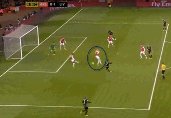 Arsenal 0-1 Liverpool (GOAL!!! Suarez) part 2