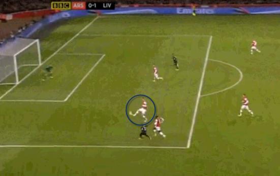 Arsenal 0-1 Liverpool (GOAL!!! Suarez)