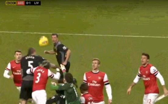 Arsenal 0-1 Liverpool (Liverpool corner – why Szczesny)