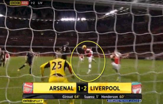 Arsenal 1-2 Liverpool (GOAL!!! Giroud)